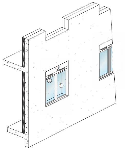 Guidenr hqe insonorisation des logements proches des for Porte acoustique 60 db