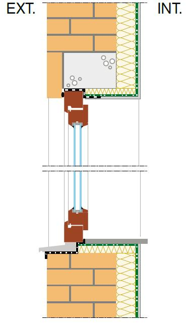 Ch ssis linteaux et tablettes de fen tre for Pont thermique fenetre