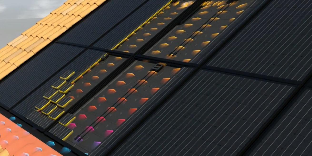 Systovi recycle la chaleur des panneaux solaires pour chauffer la nuit